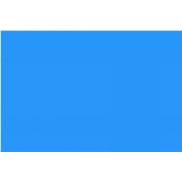 Голубой перфорированый 100% полиестер для столов - легкий вес - Швейное оборудование (арт.104.02.04)