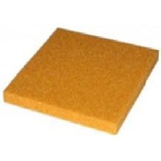 Желтая силиконовая пенка толщ. 10 мм