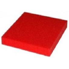 Розовая силиконовая пенка толщ. 15 мм