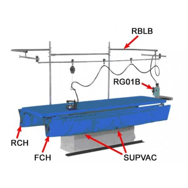 RBLB подвеска утюга +  система крепления подвески утюга - Швейное оборудование (арт.RBLB)