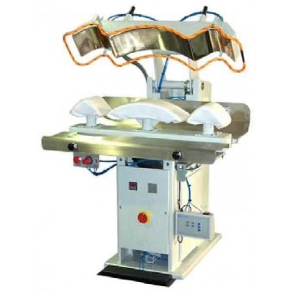 ROTONDI BL CLP/E/ASP -  пневматический пресс для окончательной утюжки воротника и манжетов - Швейное оборудование (арт.BL CLP/E/ASP)