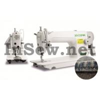 Универсальная одноигольная промышленная швейная машина Zoje ZJ 8700-5 для тяжелых материалов (с сервоприводом)