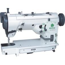 ZOJE ZJ457B105-L-F швейная машина, двух укольный зигзаг, высокоскоростного ротационного типа