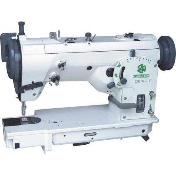 ZOJE ZJ457B105-L-F швейная машина, двух укольный зигзаг, высокоскоростного ротационного типа - Швейное оборудование (арт.ZJ457B105-L-F)