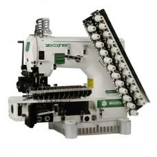 Zoje zj-1414-100-403-601-613-12064 Двенадцатиигольная машина с цилиндрической платформой
