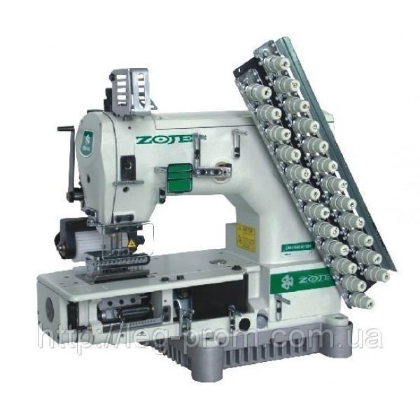 ZOJE ZJ1414-100-403-601-12064 12-игольная машина с цилиндрической платформой двухниточного цепного стежка - Швейное оборудование (арт.ZJ 1414-100-403-601-12064)