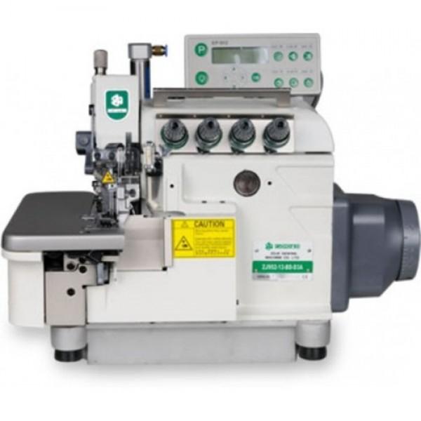 ZJ952-13-BD-D3A Высокоскоростной четырехниточный компьютеризированный оверлок для толстых тканей - Швейное оборудование (арт.ZJ952-13-BD-D3A)