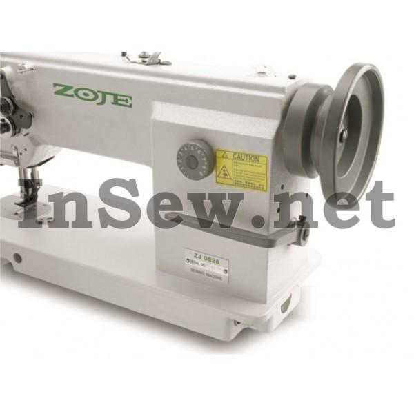 Промышленная швейная машина Zoje ZJ 0628 для тяжелых материалов с тройным продвижением материала - Швейное оборудование (арт.ZJ 0628)