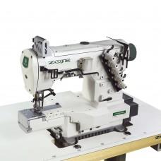 ZOJE ZJC2542PR-156M Трехигольная пятиниточная плоскошовная швейная машина цепного стежка, рукавного типа
