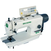 Одноигольная прямострочная швейная машина ZOJE ZJ5300 BD челночного стежка с обрезкой края ткани