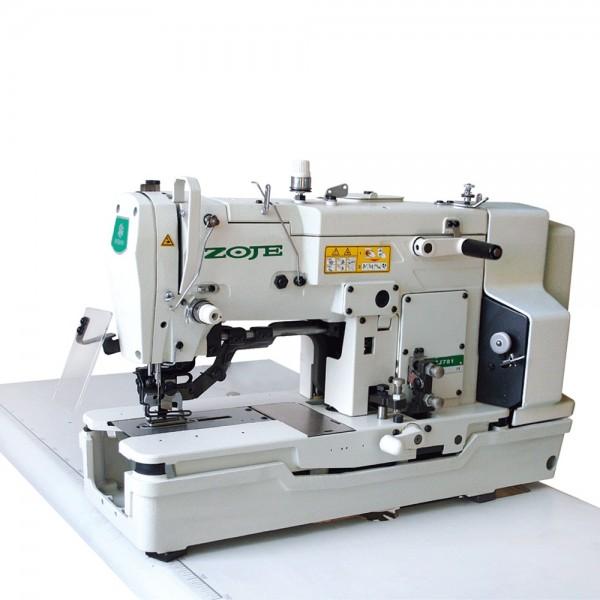 ZOJE ZJ-781 Одноигольный петельный полуавтомат челночного стежка - Швейное оборудование (арт.ZOJE ZJ781)