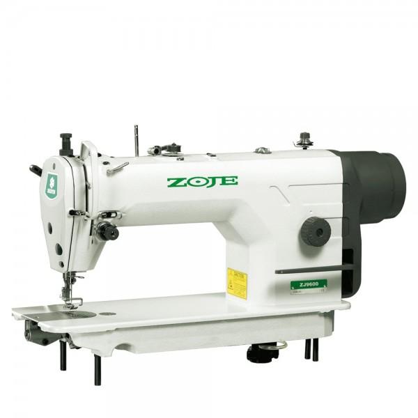 Одноигольная машина Zoje ZJ 9600 челночного стежка с прямым приводом, позиционированием иглы и с нижним двигателем материала - Швейное оборудование (арт.ZJ 9600)